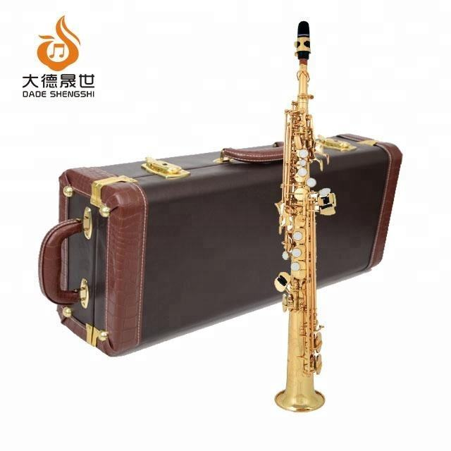 Accept OEM Dasheng Music DSSS-711 Chinese Cheap Wind Instrument Soprano Saxophone