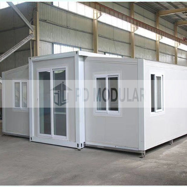 Steel frame modular homes prefab modern container office