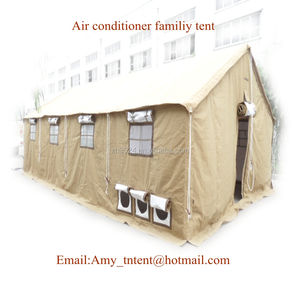 air conditioner family steel structure tent