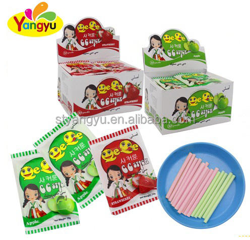 China Supplier Good Taste Fruit Flavor CC Stick Candy