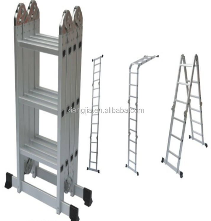 Low price aluminum single side step ladder made in China
