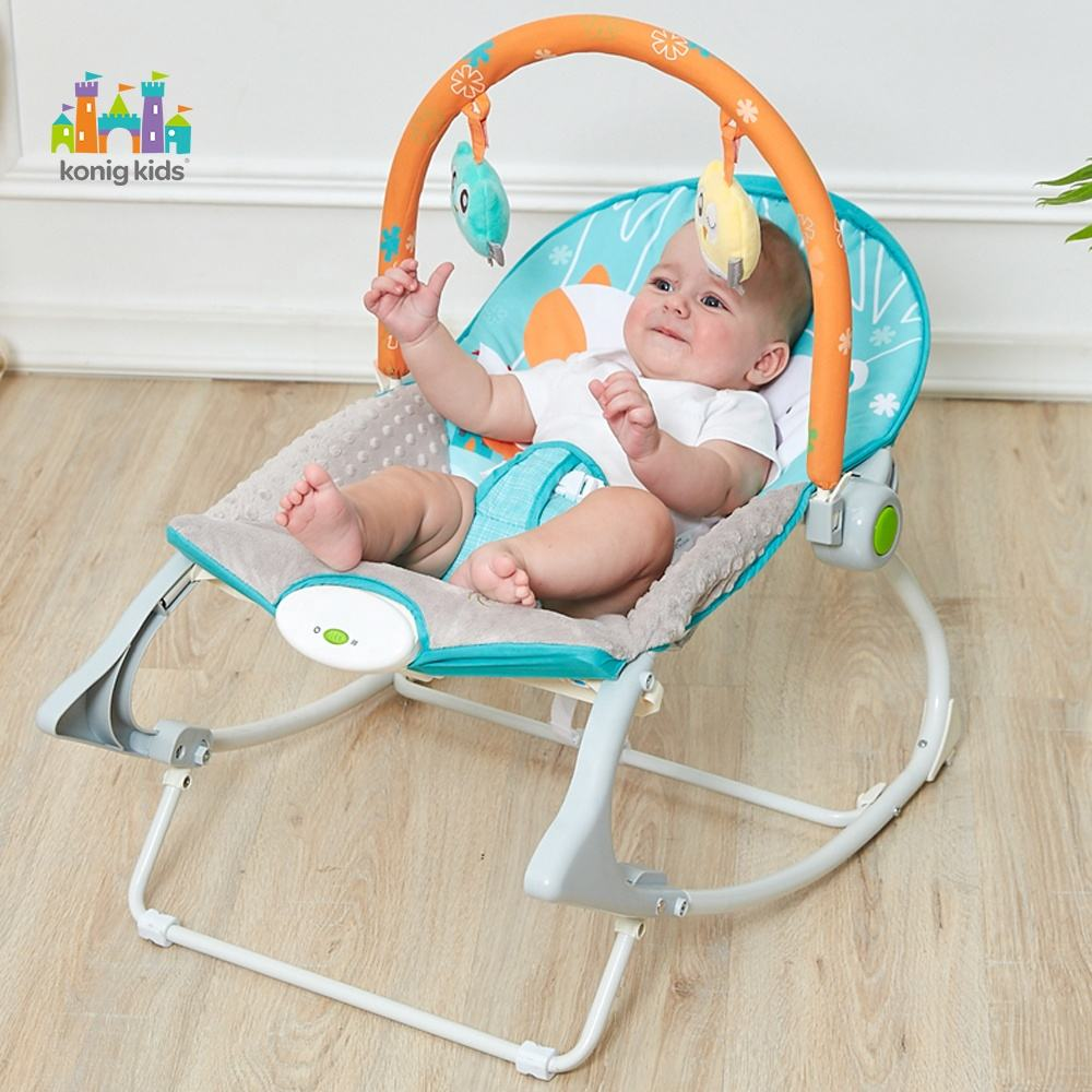Konig Kids Baby Rocker Bouncer,Vibration Baby Bouncer rocker chair