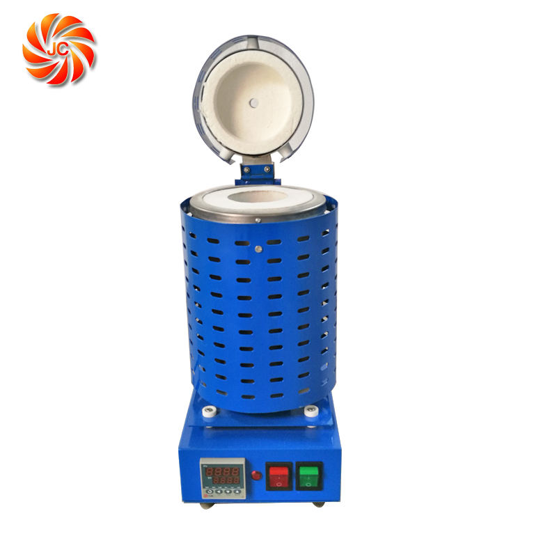 JC Small Mini Metal Copper Aluminum Gold Melting Furnace