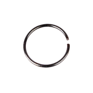 Carbon steel Round 선 Lock snap 리테 이닝 링 대 한 통로 및 홀 Metric standard size supplier