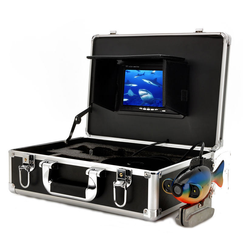 HD Waterproof 20M Cable Deep Water Underwater Fishing Camera System 7 Inch LCD Monitor Video Color Fish Finder