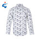 Cotton Sleeve Sleeve Shirt Shirt Shirt New Fashionable Casual Style Cotton Long Sleeve Floral Shirts For Men Printed