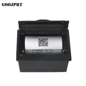 Penerimaan termal mini qr kode/modul 58mm tiket printer barcode printer