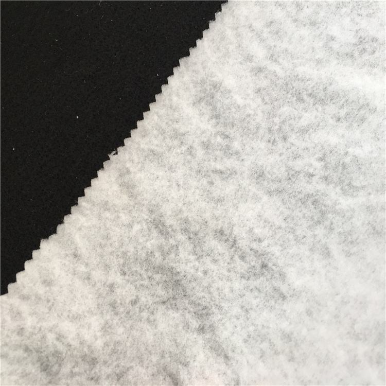 40g hot air cotton ES material hot air through nonwoven stabilized fabric quilted wadding and batting fabric