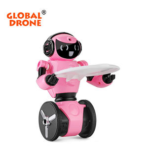 Wltoys RC Robot F4 0.3MP Camera Wifi FPV APP Controle Intelligente G-sensor Smart Robot Super Carrier RC Speelgoed cadeau voor Kinderen