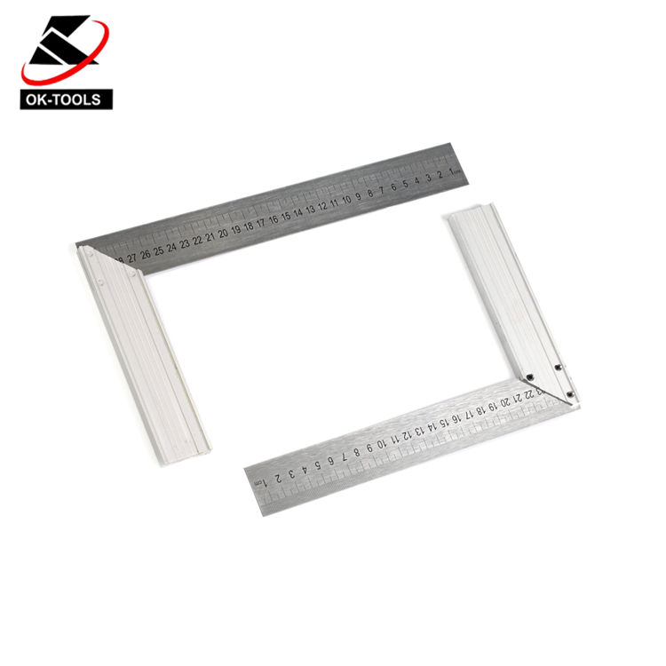 스퀘어 (times square) 자 의 Made 알루미늄 합금 및 stainless steel 축척은 온화하고 만나다 다 GB standard Clear 및 wearable Specification 250 미리메터