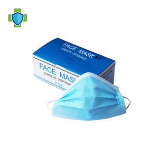 Cheap 3 Ply Surgical Face Mask Earloop Colorful Medical Non woven Disposable Face Mask