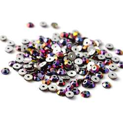 Free shipping 3mm 4mm 5mm 6mm crystal glass bead with hole rhinestone sew ons