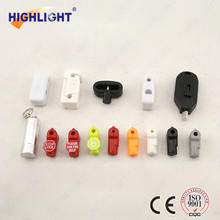SL001 retail loss prevention EAS display security stop lock/magnetic peg hook