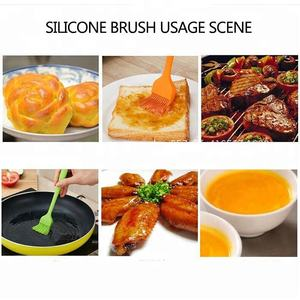 Silicone Basting Brush Silicone Food Grade FDA Non-Stick Silicone Basting Brush