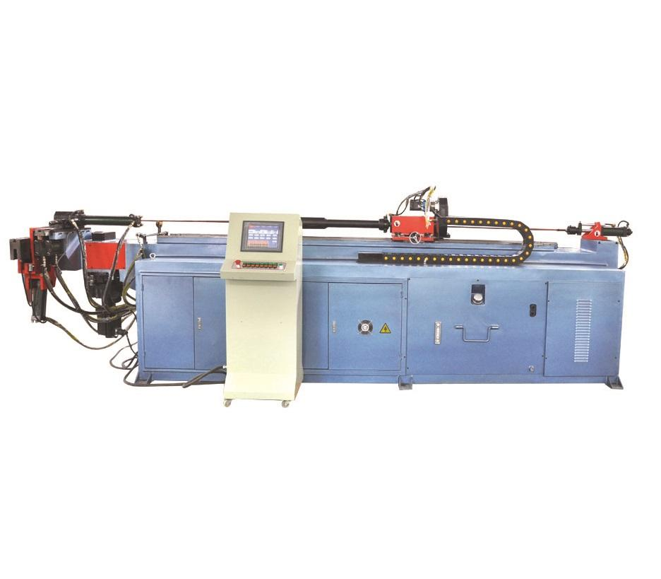 Brand new automatic pipe bending machine for wheel barrow with high quality DW63CNC