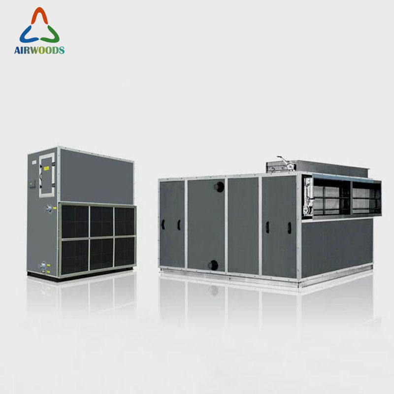printing plant hvac system reduction energy consumption ahu equipment water cooling air handling unit