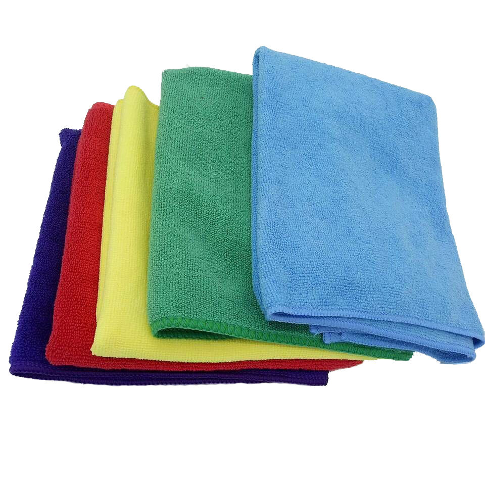 Magic Kitchen Micro Fiber Towel 15x25 Restaurant White Printed Cleaning Hand Towels Wholesale Wash Cloth with Custom