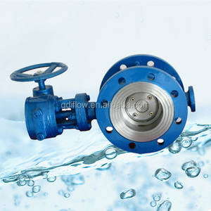 Triple Offset Gearbox Stainless Steel Clamped Butterfly Valve