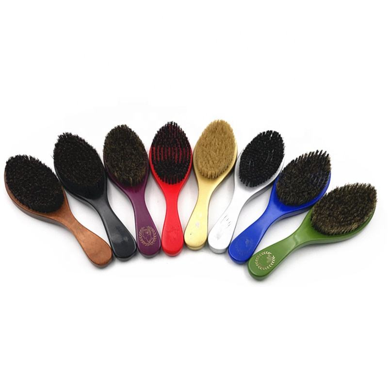 Factory Price 360 Wave Brush And Curved Wave Brush And Boar Bristle Brush Wholesale