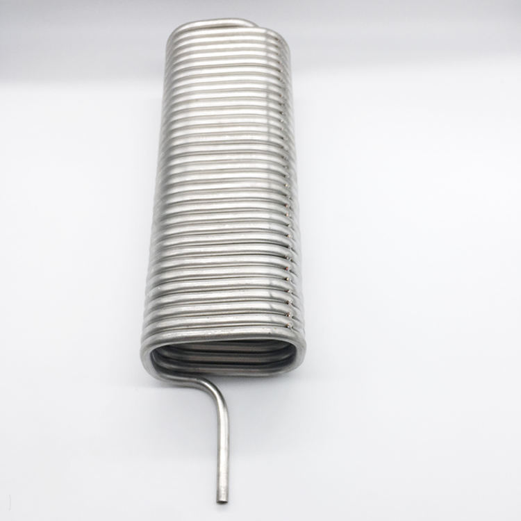 316L Stainless Steel Melingkar Tabung Heat Exchanger Serpentine Pendingin Kumparan