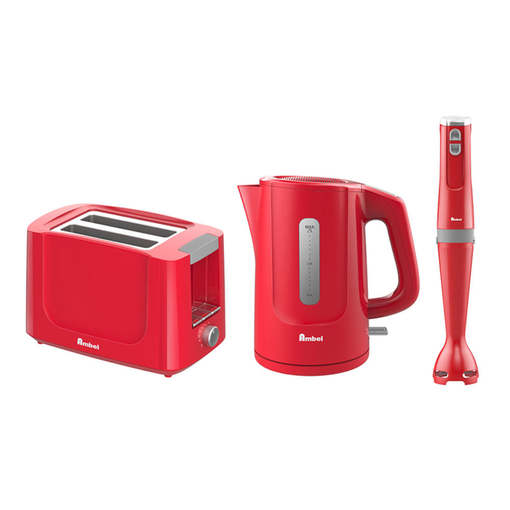 Patent Design make your easy breakfast high quality toaster hand blender and electric kettle 3 in 1 breakfast maker set