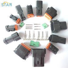 BLACK DEUTSCH 2p 8p 6p DT SERIES female male CONNECTOR