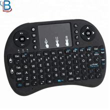 I8 Wireless Keyboard Remote Control with touchpad For Android Box