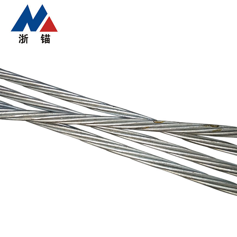 Alibaba China 7 Wire Galvanized Pc Strand High Tension Steel Cable