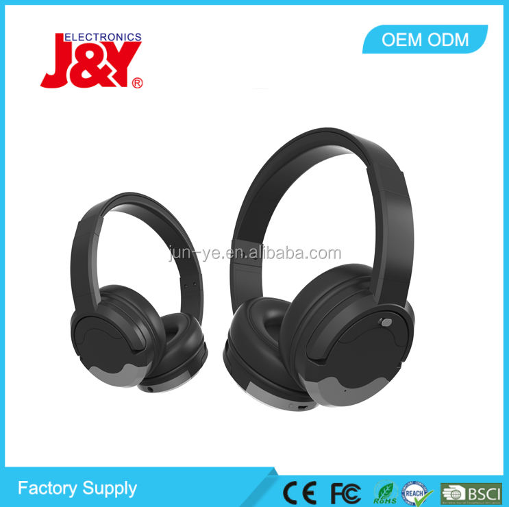 CLASSIC DELUXE BLUETOOTH HIFI WIRELESS HEADPHONES WITH CERTIFICATION FOR PC/PHONE