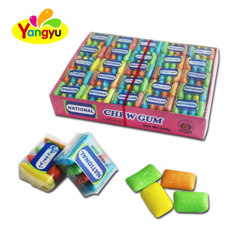 Popular 4 In 1 Pk National Chewing Gum