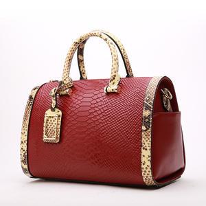 2019 Custom Famous Brand Luxury Bags Alligator Pattern Women Handbags
