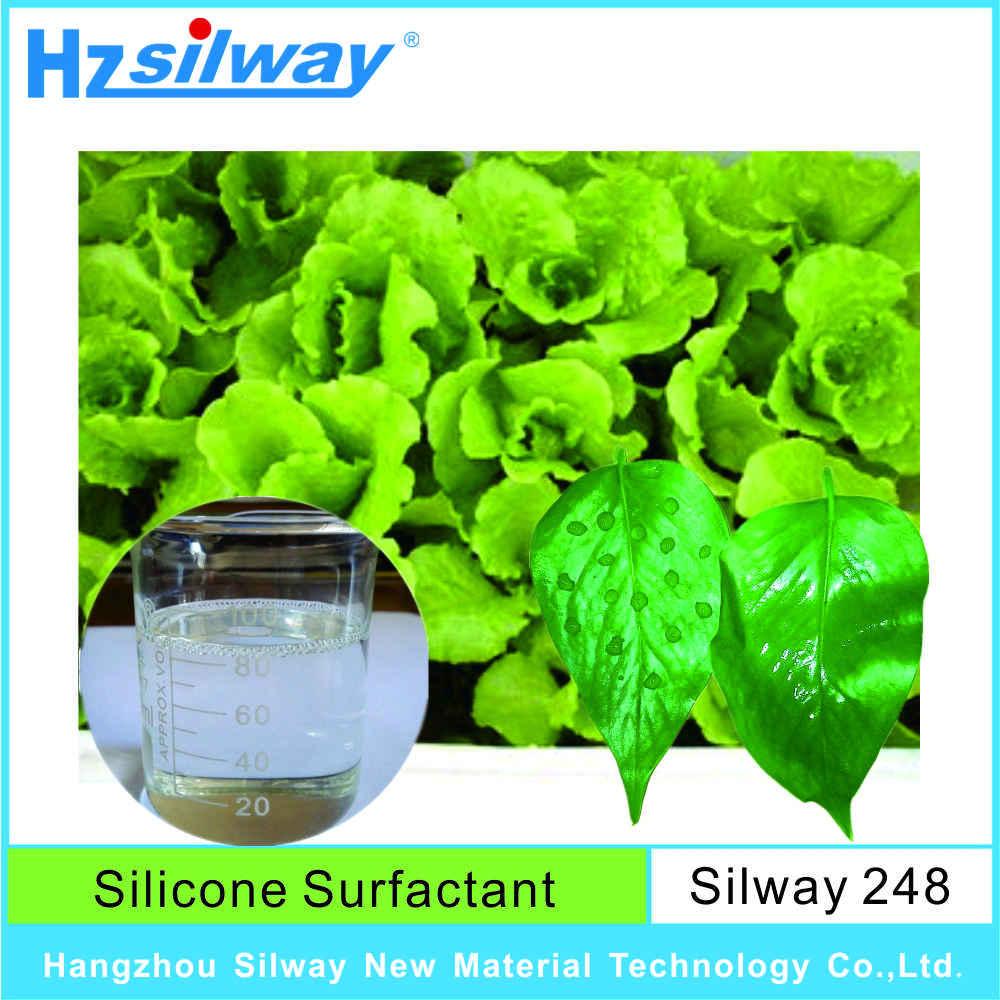 Sıcak satmak CAS No.6767-467-3 penetrant surfaktan trisiloxane ethoxylate proses tesisi için Tarım