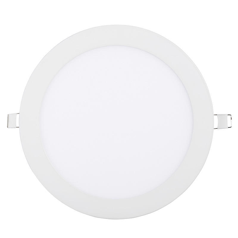 super slim ultra-thin 18 watt embedded panel light round thin recessed lamp 18w led downlight