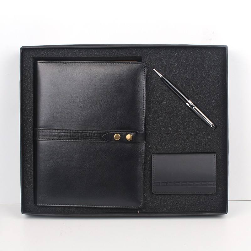Set office gifts 2016 journal travel business not book with pen and name card holder