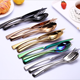 China royal 304 Gold/white stainless steel Spoon Fork Knife cutlery/flatware/silverware/tableware sets