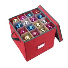Customized household essentials decorative christmas balls storage case