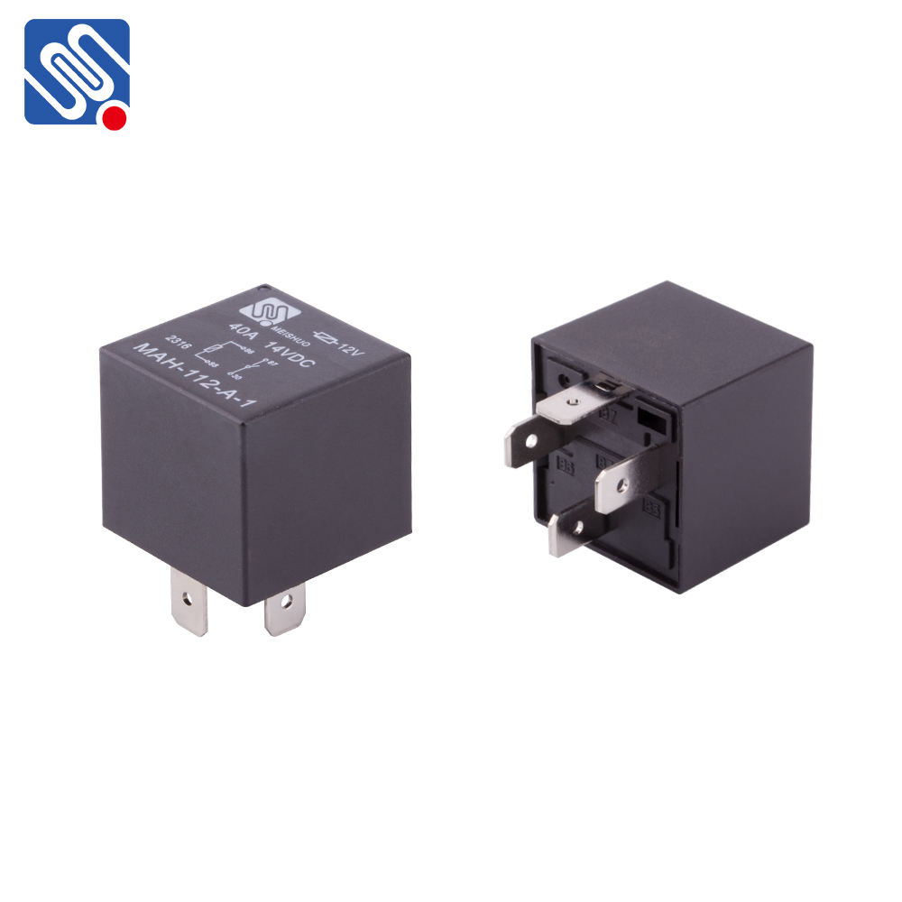 Meishuo MAH Electric 24vdc JD1915 JD1914 dc spdt 5 pin mini power 12 volt 40 amp 30A 4pin auto car relay