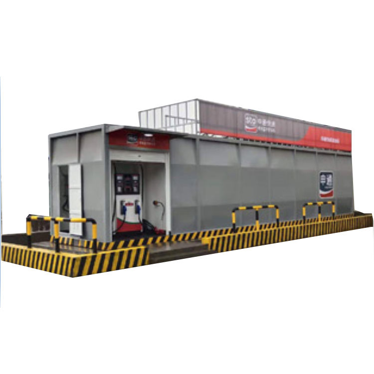 50CBM container petrol equipment gas mobile filling station for south africa