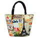 custom new style leisure fashion female package printing handbag lovely lunch bag beauty small canvas bag R483
