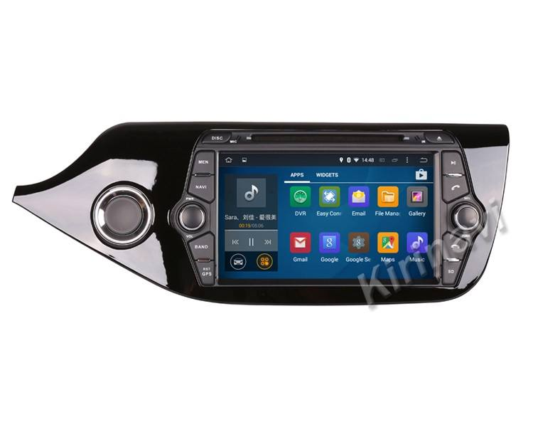 Kirinavi WC-KC8055 android 5.1 car multimedia per kia ceed 2012-2014 lettore dvd gps radio navigation WIFI 3G BT Playstore