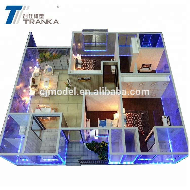 Beautiful 3D architecture model manufacturer , building model