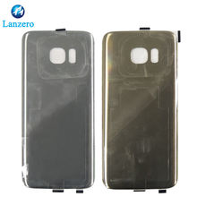 Newest Battery door Cover for samsung S7 edge back cover Housing glass Replacement