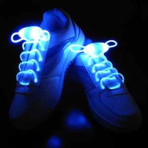 LED shoe laces Flashing shoe laces glow shoe laces China manufacturer supplier led flashing shoelaces light up led shoelace