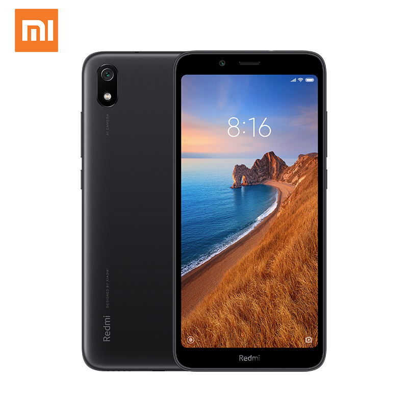 Global Version Original Xiaomi Redmi 7A 2+16GB Quad Core 5.45 full screen face unlock mobile phone android smartphone