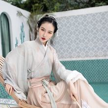 summer new original hanfu dress women  print fashion waist skirt Traditional Chinese clothing two-piece Ru skirt  Fusuzi