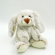 Cute Fluffy Bunny Plush Rabbit Toys Stuffed Animals White/ Grey Easter Rabbits Pet Soft Dolls Baby Toy for Children Gifts