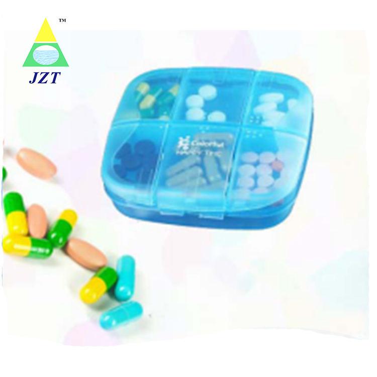 A forma di <span class=keywords><strong>6</strong></span> compartimento pill box medicina tablet