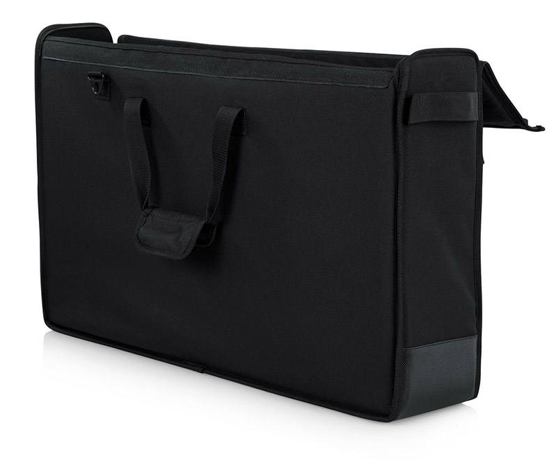"Cases Padded Nylon Carry Tote Bag for Transporting LCD Screens, Monitors and TVs Between 27"" - 32"""