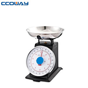 salter kitchen weighing scales with bowl mechanical black