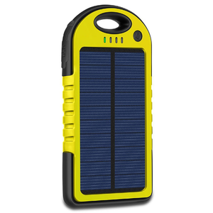 Camping two USB outputs smart phone Solar power bank
